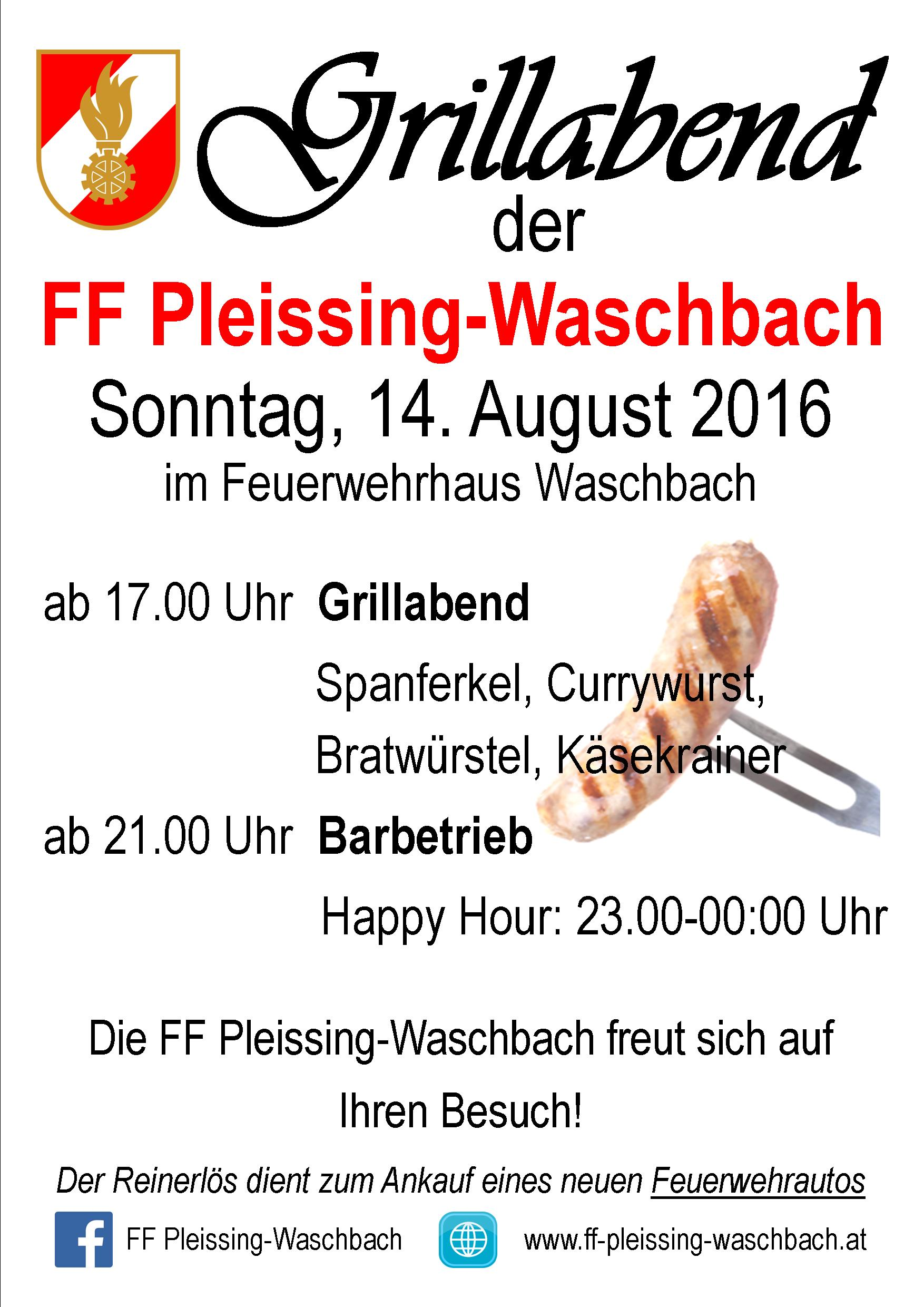 Flyer Grillabend 2016 A3